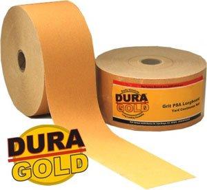 DURA-GOLD 180 Grit 2-34 PSA Roll Longboard Sandpaper