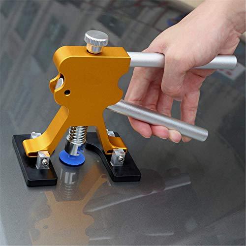 Lehom 19PCS Auto Paintless Dent Repair Kits Aluminum Lifter Puller with 18 Tab Kit for Car Hail Damage Refrigerator Door Dings