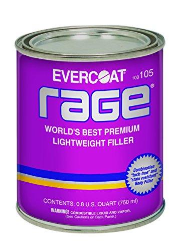 Evercoat 105 Rage Premium Lightweight Body Filler - 08 US Quart 750 ml