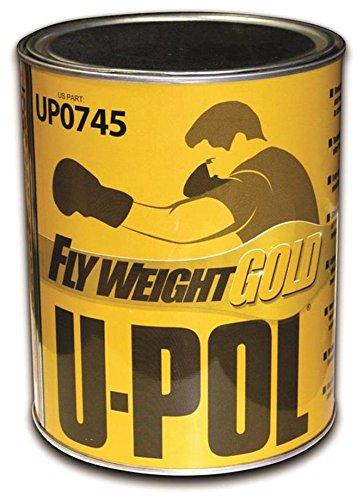 U-Pol Products 0745 Flyweight Gold Lightweight Body Filler - 3 Liter