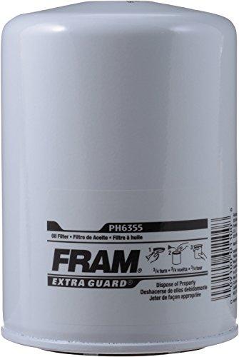 FRAM PH6355 Extra Guard Passenger Car Spin-On Oil Filter