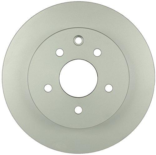 Bosch 40011061 QuietCast Premium Disc Brake Rotor For Infiniti 2003-2004 G35 Nissan 2011-2013 Leaf 2003-2005 350Z 2008-2016 Rogue 2014-2015 Rogue Select Rear