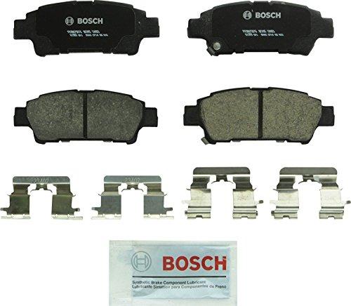 Bosch BC995 QuietCast Premium Ceramic Disc Brake Pad Set For 2004-2010 Toyota Sienna Rear