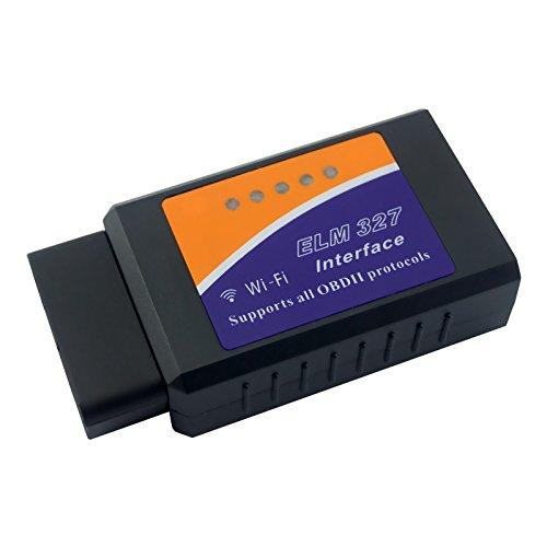 FEELDO Auto WIFI Scanner Wireless OBD2 OBDII Adapter Bluetooth ELM327 Interface Car Diagnostic Scanner