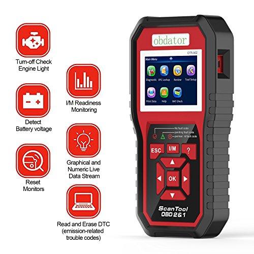 OBD OBDATOR Car Diagnostic OBD OBD2 OBDii Code Reader Scanner OBDII CAN Auto Check Engine light Diagnostic Scan Tool