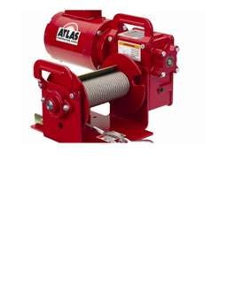 High Speed Worm Gear Power Winch - 4Wp2Dc-3Hp No Controls Hp 3 Option A B-230V Single Phase