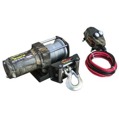 WOOD POWER WINCH Heavy Duty ATV 2000 lb Power Winch