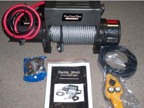 Wood Power Winch 12 Volt 100000 Lb Wxx1000012v