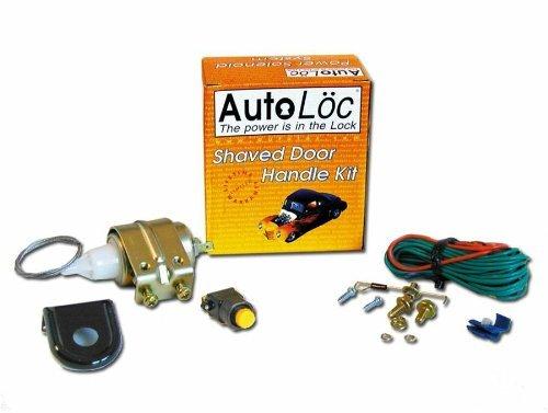 AutoLoc 140585 Single Shaved Door HandleLatch Popper Kit with 15 lbs Solenoid
