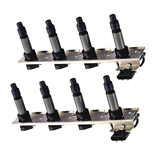 Set of 2 Ignition Coil Pack for Cadillac - DeVille Seville SRX STS XLR - Pontiac - Bonneville - Buick Lucerne V8 46L C1509 UF-372