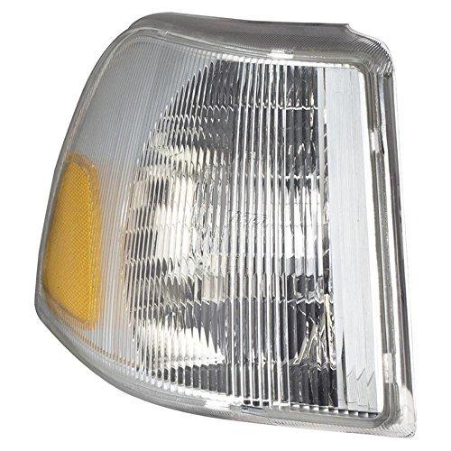 CarPartsDepot VO2520101 Fit 98-99 Volvo C-70S70V70 Side Marker Parking Light Left Side