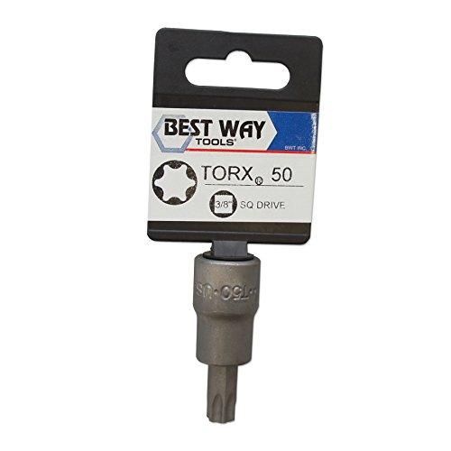 Best Way Tools 70261 T50 Torx Bit Socket