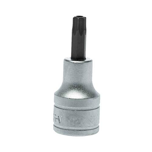 Teng Tools T40 12 Inch Drive Tamper Proof Torx Bit Star TPX Socket - M121240-C
