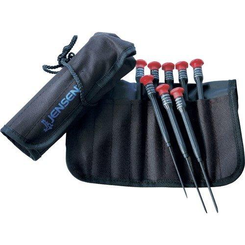 Jensen Tools 97-4400 8-pc Precision SlottedPhillips Electronic Screwdriver Set