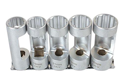 Laser - 6496 Strut Nut Socket Set 5pc