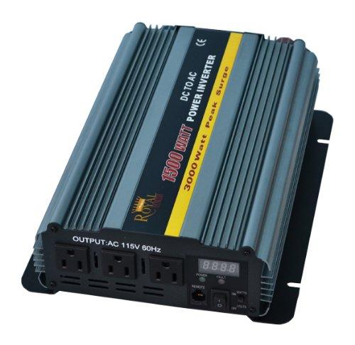 1500 Watt Power Inverter 24 Volt DC To 110 Volt AC