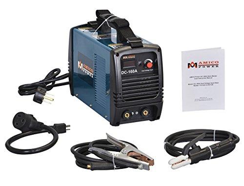 160 Amp Dual Voltage IGBT Inverter DC Welder Soldering Machine