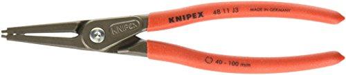 Knipex 4811J3 Internal Straight Precision Retaining Ring Pliers 9-Inch