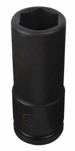 Sunex 2634 12-Inch Drive 1-116-Inch Extra Thin Wall Deep Impact Socket