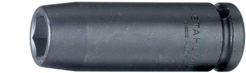 Stahlwille 51IMP-18 Extra Deep Impact Socket 12 Drive 18mm Diameter 85mm Length 30mm Width