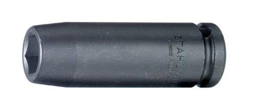 Stahlwille 51IMP-19 Extra Deep Impact Socket 12 Drive 19mm Diameter 85mm Length 30mm Width