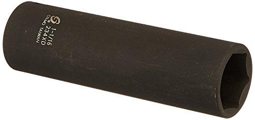 Sunex 234xd 12-Inch Drive 1-116-Inch Extra Deep Impact Socket