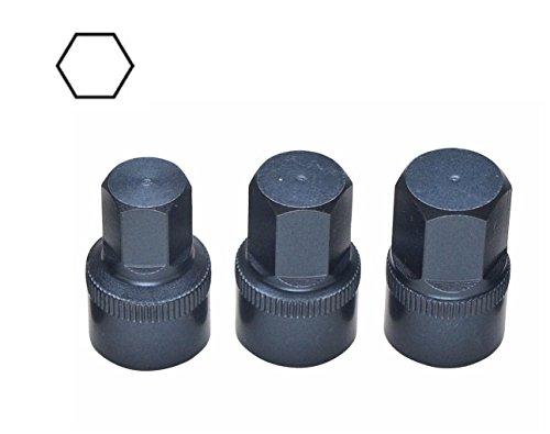 Rare Set Short Hex Tools 10mm 11mm 12mm Sockets BMW Vw Audi Porsche