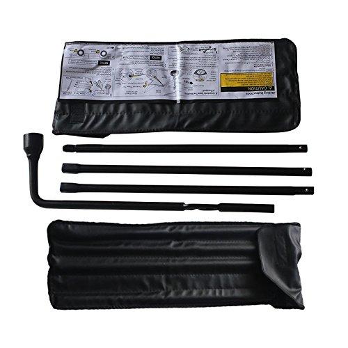 Lug Wrench Spare Tire Tool Kit for 00-2014 Chevrolet Silverado Suburban GMC Sierra Yukon XL