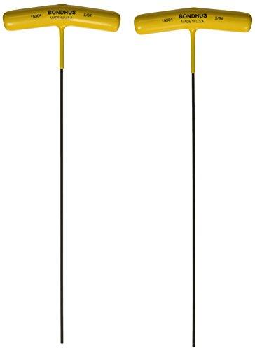 Bondhus 15304 564 Hex Tip T-Handle with ProGuard Finish 9 2 Piece