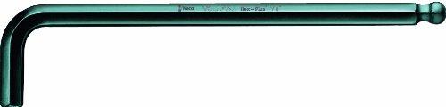 Wera Hexagon 950 PKL L-key BlackLaser Ballpoint Hex Key 564 x 100mm L-key Pack of 10