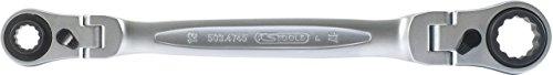 KS Tools 5034745 4 in 1 GEARplus flexible reversing double ratchet ring spanner 10x13-17x19mm