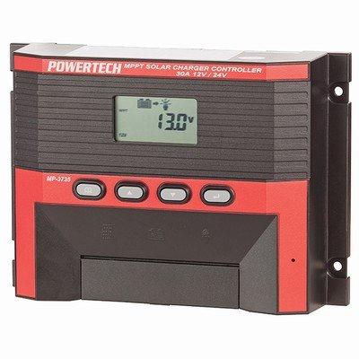 12V24V 30A MPPT Solar Charge Controller LCD display adjustable charging voltages