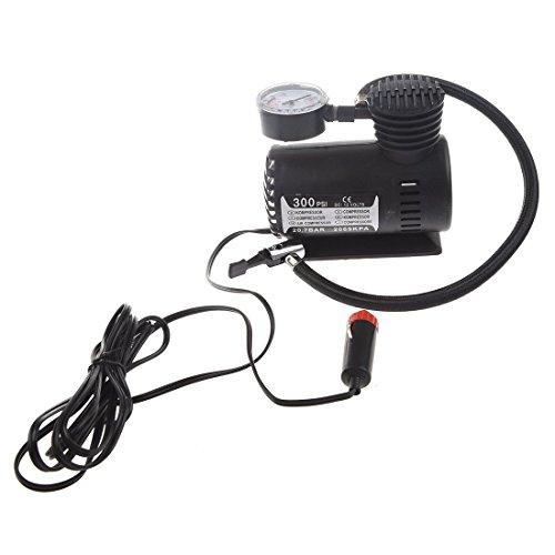 SODIALR 12V Car Auto Electric Pump Air Compressor Portable Tire Inflator 300PSI K590