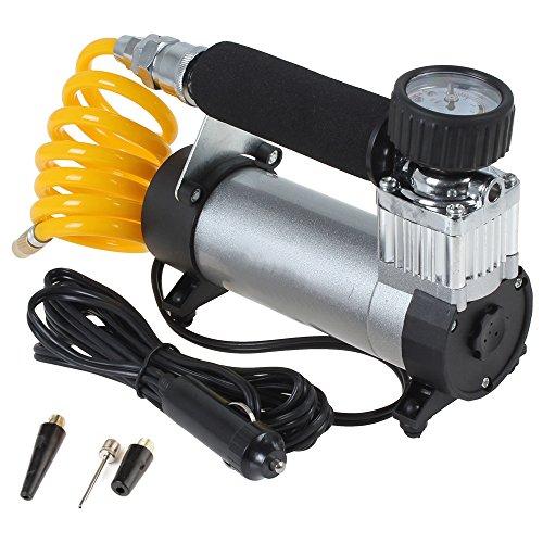 PolarLander Portable Super Flow 12V 100PSI Auto Tire Inflator Car Air Pump Air Compressor
